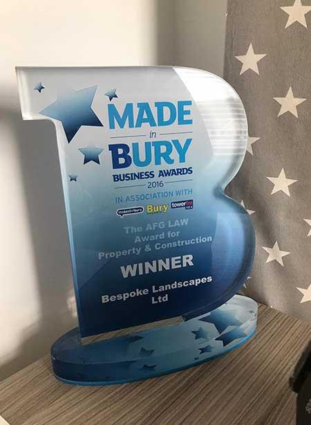 bespoke landscapes bury awards winner