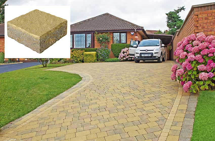 completed driveway drivesett duo