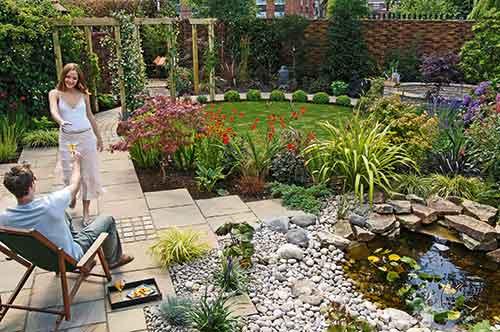 garden path edgings materials