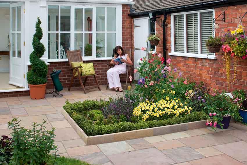 garden paving materials