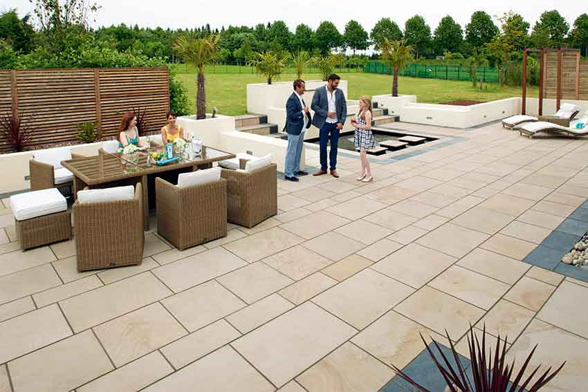 garden paving options pavesys heritage
