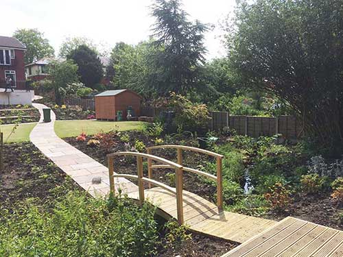 garden redesign services bury