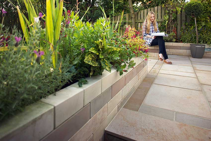 garden walling ideas