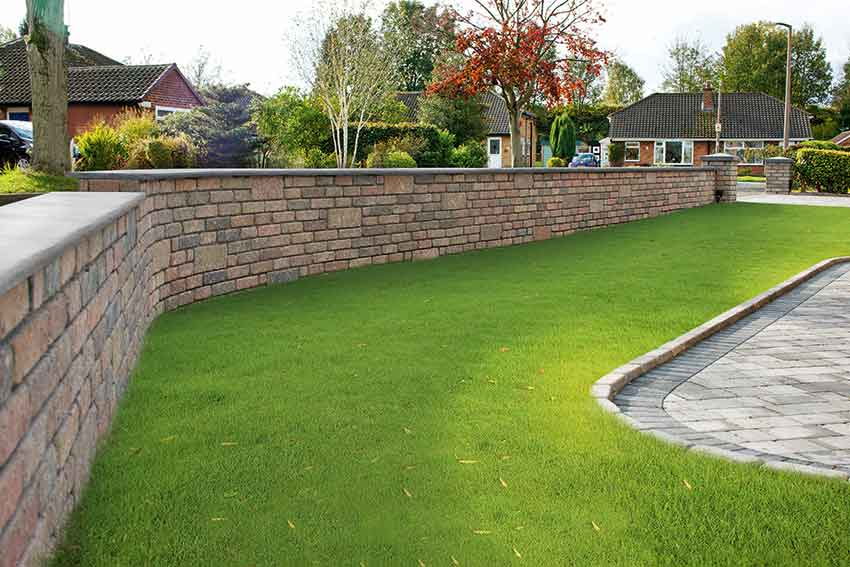 garden walling options